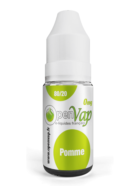 LIME flavour E-liquid for electronic cigarettes in a 10ml bottle